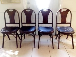 Louis Rastetter & Sons Folding Chairs